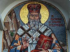 В монастыре Морача хранятся мощи Св. Василия Острожского. Самая почитаемая святыня Черногории.