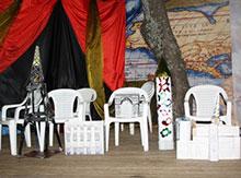 Провинции представили  макеты  Триумфальной арки,  собора  Нотр-Дам-де-Пари, колонны Медичи и  даже Люксорского обелиска!