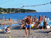 Пляжный волейбол – дело занимательное!
