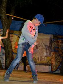 …Артем Третьяк же показал себя настоящей звездой хип-хопа