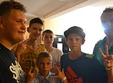 Паша Любимов (слева) и Ко! Рассчитывают на победу!