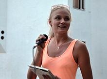 Бондаренко – спикер Бремена, гитарист(кА), певица и просто красавица!