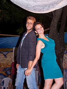 А вот и ведущие нашего нежного вечера «Романтика Адриатики»… Если бы не победители из Лотарингии – Ваня Бровкин и Катя Скрипка – то именно эта пара получила бы приз