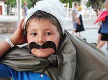 Еще один, малый, но не менее смелый и не менее верный Родине и традициям, кавказец!