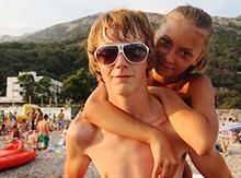 Парой больше: Женя Карачинцев и Даша Тарабанько нашли друг друга