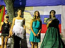 Из четырех конкурсанток Император выбрал… хочется назвать её Мальвиной, столь она хрупка – Арину Михайлову