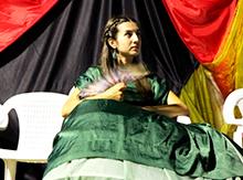 а последней показала свои способности Дарья Лабутина – настоящая оперная певица