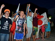 Еще сегодня прошли акции протеста и флеш-мобы против войны