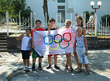 Самое лучшее средство против войны – спортивные соревнования! Именно поэтому мы и решили провести Олимпийские Игры МИРА!