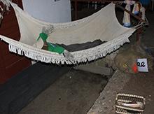 И устав от нелегких трудов с большим удовольствием спят в уютных гамаках…