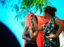 … да и Галина Урусова вдохновенно репетирует сцену за сценой с Фэнтези-театром…