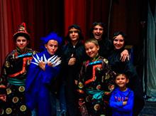 «Дети и куклы вытворяшки» из Бурятии представили зрителям  постановку  «Легенда о Таксиме». Настоящий музыкальный  театр теней…  Это было великолепное и захватывающее зрелище!!!