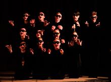 И еще одно выступление ребят из театра-студии «Розыгрыш»….