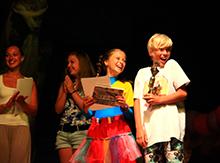Младший состав этого коллектива получил награду за спектакль «Волшебная шляпа»