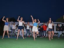 Танцевали