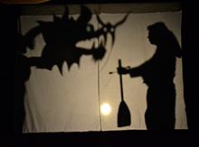 …спектакль Театра Теней, который поведал нам  удивительную историю о Призвании, Труде, и о том, что мечты обязательно сбываются!